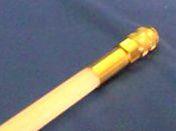 5ft. White Rod (medium stiff)