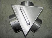 "Aluminum 10""x8""x8"" Box ""Y"""
